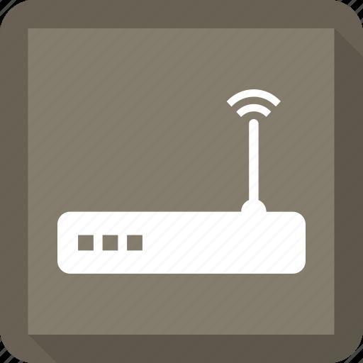 internet, router, signal, wifi icon