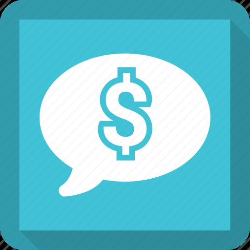 bubble, chat, speech, talk icon