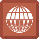 earth, globe, location icon