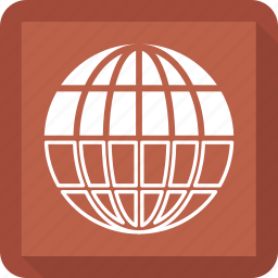 earth, globe, location icon