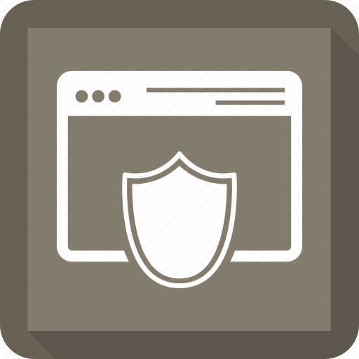protection, safety, secure, security, web, webpage icon