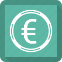 euro, finance, transaction, transfer icon