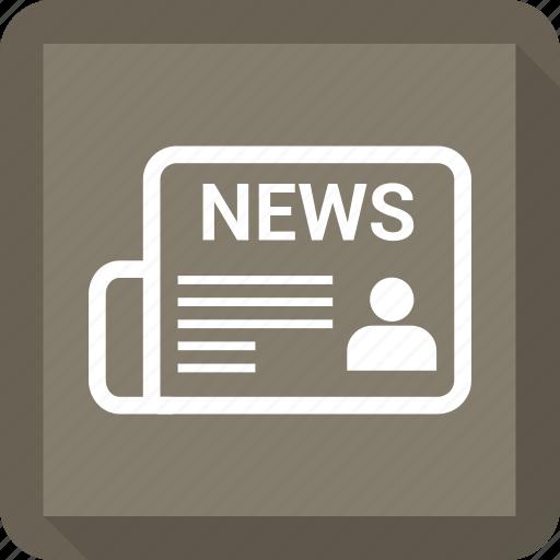 news, newsletter, newspaper, press icon