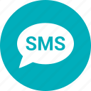 communication, connection, message, sms icon