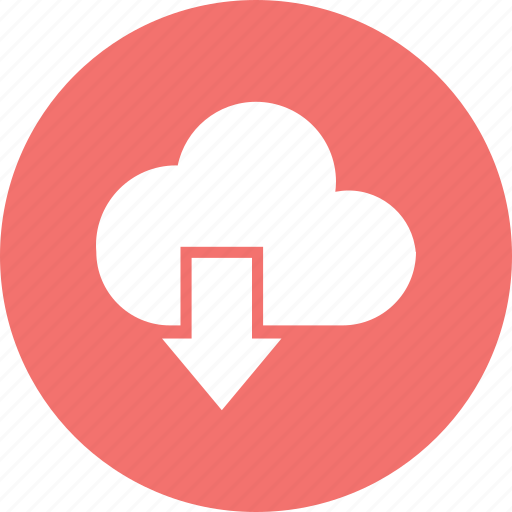 cloud, download, network, storage icon