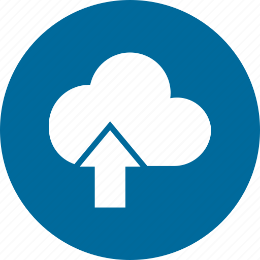 cloud, network, storage, upload icon