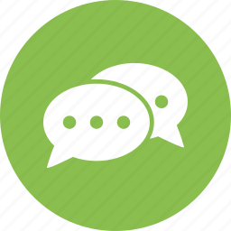 chat, communication, conversation, message icon