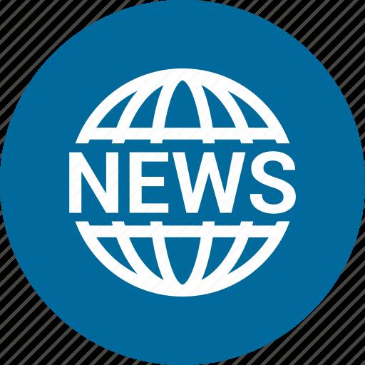 earth, global, globe, news, world icon