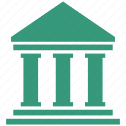 bank, government icon