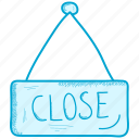 close, shop, store icon