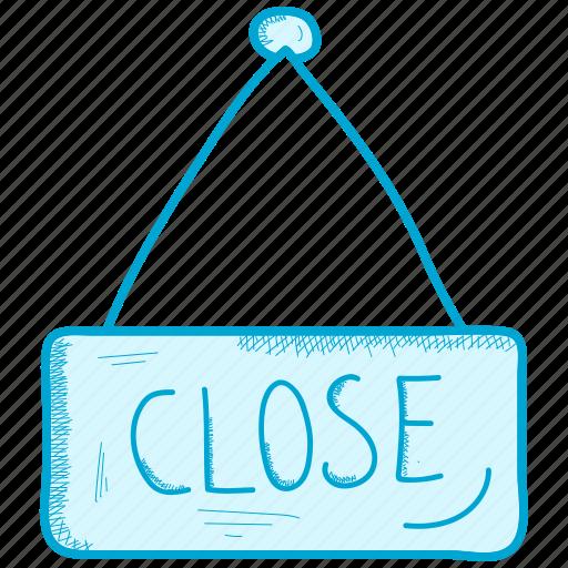 close, shop, store icon