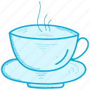 coffee, room, tea icon