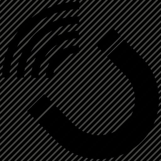 horseshoe, magnet icon