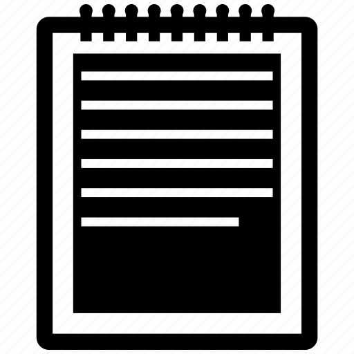 List, notepad, notes icon - Download on Iconfinder