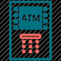 atm, atm hardware, atm machine, device, hardware icon