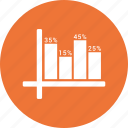 bar chart, business graph, business growth, graph icon