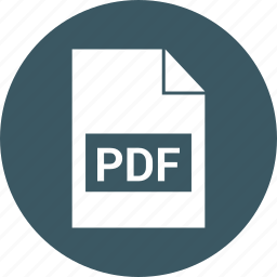 document, file, format, pdf icon