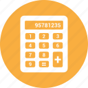 calculate, calculation, calculator, math icon