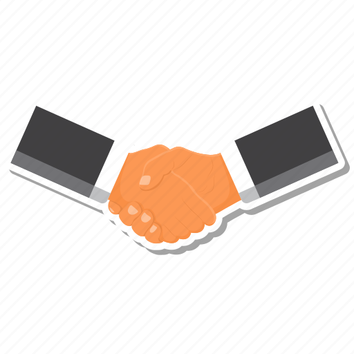 deal, hand, shake icon