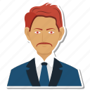 business, male, man, office, person icon