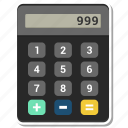 calclutar, calculator, numbers icon