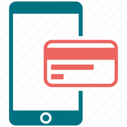 atm card, mobile, phone, smartphone, telephone icon