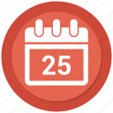 calendar, date, dec, december, events, month icon
