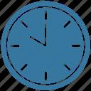 clock, ten o' clock