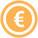 coin, dollar, euro, finance, money icon