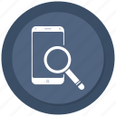 find, mobile, phone, search icon