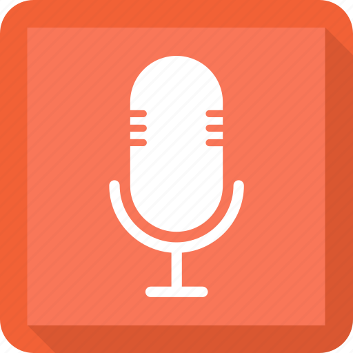 Sound, microphone, audio, multimedia icon