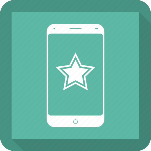 favorite, mobile, social, star, web icon