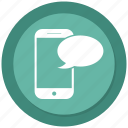 chat, message, mobile icon
