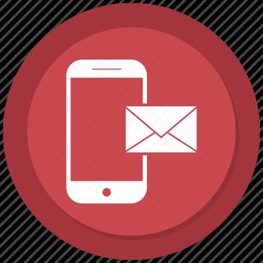 app, letter, mail, mobile, phone, send, sending icon