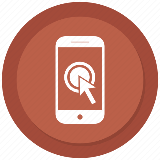 Click, hand, mobile, phone, touch icon - Download on Iconfinder