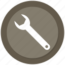 screw tight, tool icon