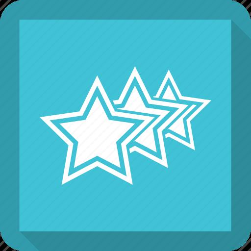 Vote, favorite, star, achievement icon