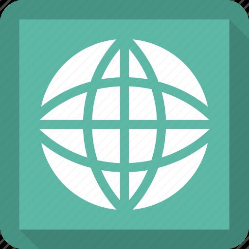 earth, language, planet icon