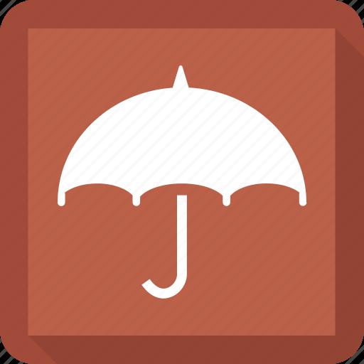 insurance, protection, shade, umbrella icon