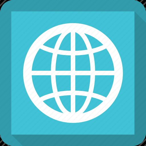 earth, globe, world icon