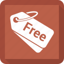 free tag, label, offer, tag icon
