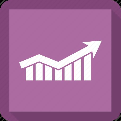 bar, bar chart, business, chart, graph, growth icon