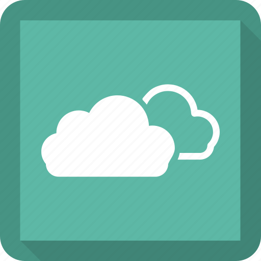 cloud, clouds, sky, storage icon