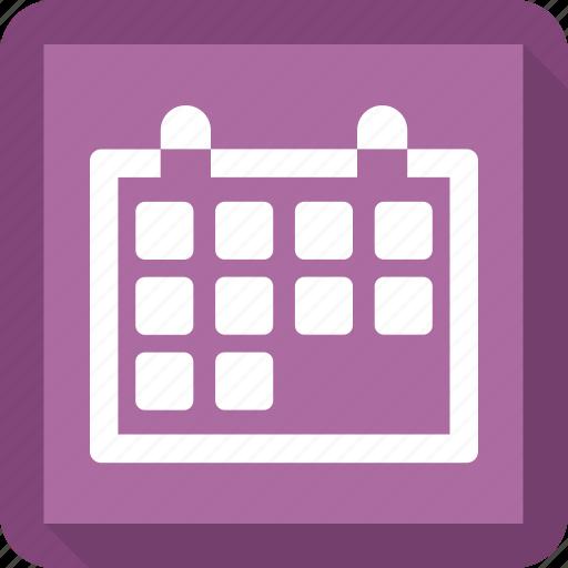 Date, calendar, month, schedule icon
