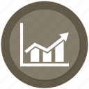 development, graph, growth, optimization, performance, productivity icon