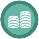 coin, fund, invest, money icon