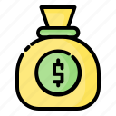 coin, gold, money, payment