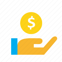 business, cash, coin, deal, money, payment icon