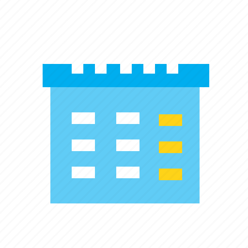 business, calendar, date, office, schedule, time icon