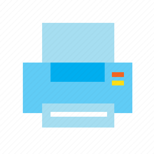 business, document, hardware, office, print, printer icon